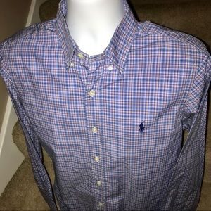 *Polo by Ralph Lauren* l/s men's casual shirt - M